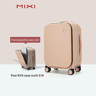 Aluminum Frame Suitcase Carry On Rolling Luggage