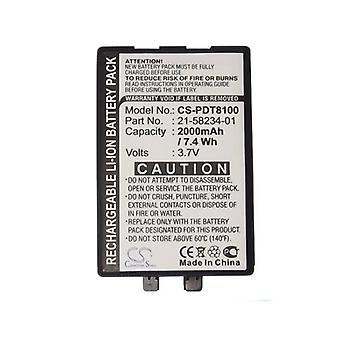 Cameron Sino Pdt8100 Battery Replacement For Symbol Barcode Scanner
