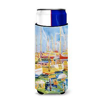 Barche al Porto Ultra Isolatori bevande per lattine sottili 6019Muk