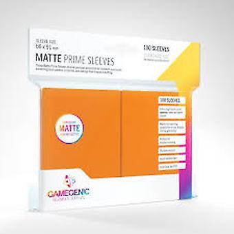 Gamegenic Matte Prime Orange - 100 rukávů