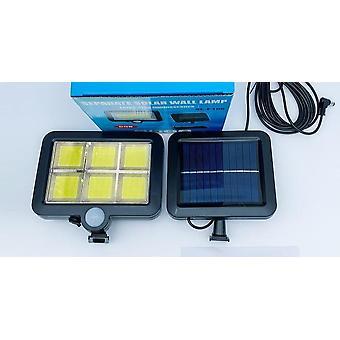 Outdoor Motion Sensor Recharge Solar Wall Light