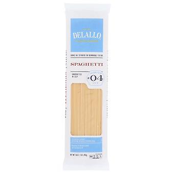 Delallo Spaghetti #04, Case of 16 X 16 Oz
