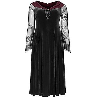 Punk Rave Lagertha Velvet Dress