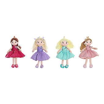 Rag Doll DKD Home Decor (4 pezzi) (15 x 10 x 25 cm)