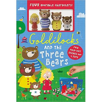 Goldilocks and the Three Bears by Ltd Make Believe Ideas & Illustrated by Clare Fennell
