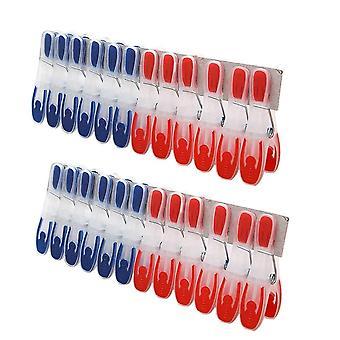 Clips de lessive coupe-vent antidérapants