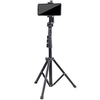 Mobiltelefon stativ stativ och selfie pinne stativ, allt-i-ett professionellt stativ (Style2)