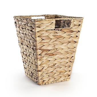 Cesta de papel de desecho de hoja de plátano natural | M&W