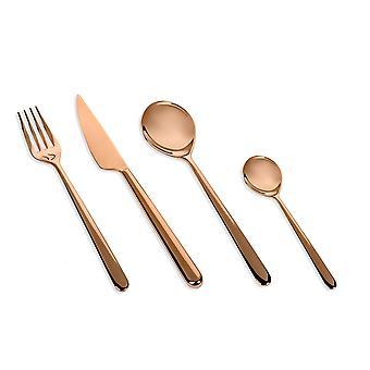 Mepra Linea Bronzo 4 pcs flatware set