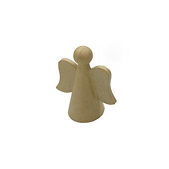 12cm Papier Mache Christmas Angel Base à décorer | Papier De Noël Mache
