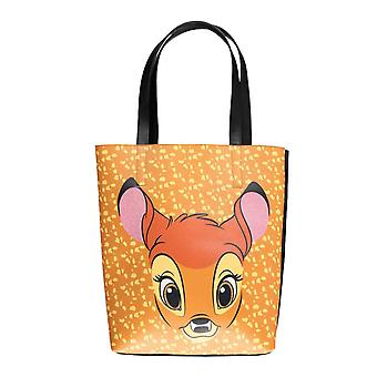 Bambi Shopper Bag Tote muotokuva Tulosta uusi virallinen Disney Brown