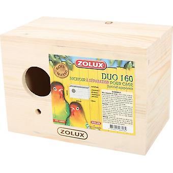 Zolux Nest Holz Agapornis (Vögel , Käfigzubehör , Nester & Zubehör)