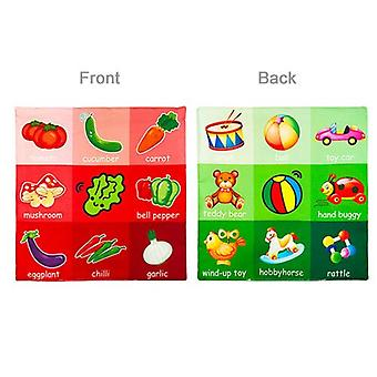 Soft Cloth Newborn Book, Children's Toys For 0-12 Months, Educational Learning, Cognitive Learning Objects, -07