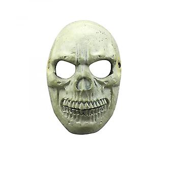 Halloween Carnival Party Performance Props Simulation Scary Skull Mask