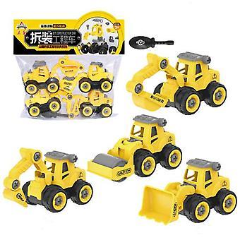 Kinder's Abnehmbares Baufahrzeug Spielzeug Typ A