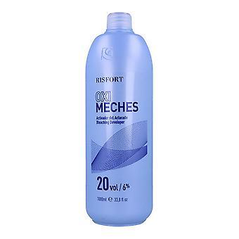 Hair Oxidizer Risfort 20 Vol 6 % Wicks (1000 ml)