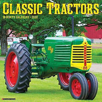 Klassiska traktorer 2022 Väggkalender av Willow Creek Press