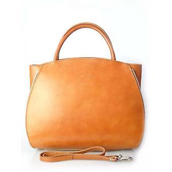Vera Pelle A4 Camel K12C everyday  women handbags