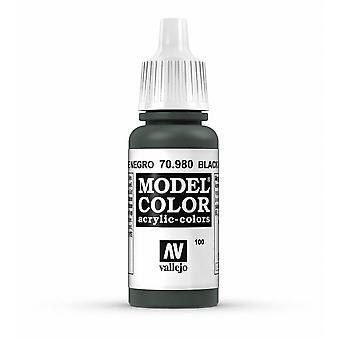 Vallejo Model Color 17ml Acrylic Paint - 980 Black Green