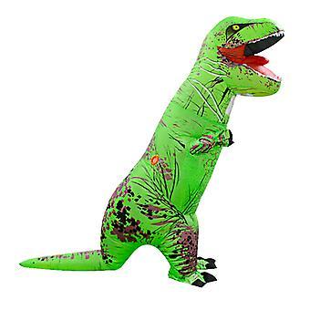 Green Tyrannosaurus Rex (adult Version) Halloween Cosplay Tyrannosaurus Rex Inflatable Costume Dinosaur Costume