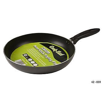 28cm Non-Stick stekepanne emalje matlaging kjøkken Frypan