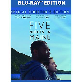 Cinq nuits en importation USA Maine [Blu-ray]
