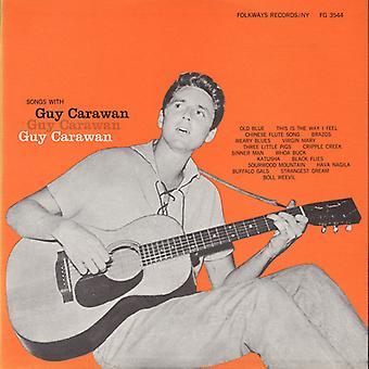 Guy Carawan - canciones con la importación de los E.e.u.u. de Guy Carawan [CD]