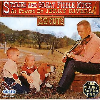 Jerry Rivers - Great Fiddle Music [CD] USA import
