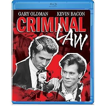 Criminal Law [BLU-RAY] USA import