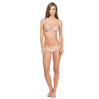 Affinitas Carrie European Nude Plunge Push-up Bra A11311