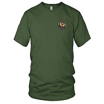 Exército força aérea ARVN TBUC - Soth Vietnã insígnia militar guerra bordada Patch - Mens T-Shirt
