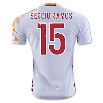 2016-2017 España camiseta Adidas (Sergio Ramos 15) - niños