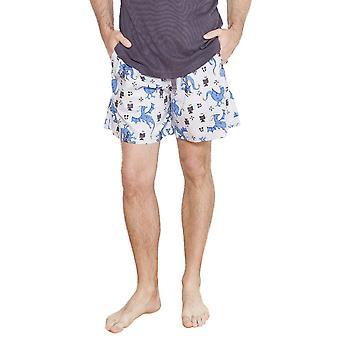 Drake grigio motivi pigiama Cyberjammies 6199 maschile corto