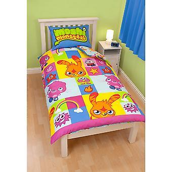 Moshi Monsters Childrens/Kids Official Duvet Cover Bedding Set
