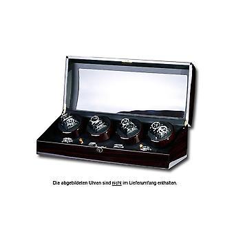 Portax Watchwinder Eleganza 8 watches ebony Walnut Burl 1002325