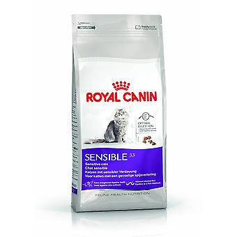 Royal Canin SENSIBLE 33 chat sec mélange alimentaire 10kg