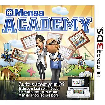 Mensa Academy (Nintendo 3DS) - New