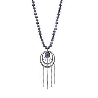 Misaki ladies necklace silver FAME QCRNFAME