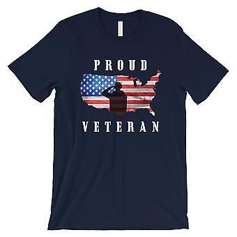 Proud Veteran Sister T-Shirt Mens Navy T-Shirt American Army Gift