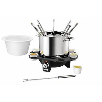 Unold Elegance Fondue 1000 W with manual temperature settings Stainless steel, Black