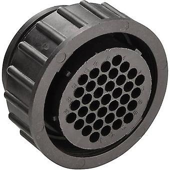 TE Connectivity 182923-1 CPC Standard Socket Housing con Unione dado corrente nominale (Dettagli): Vedi scheda tecnica numero di pin: 37