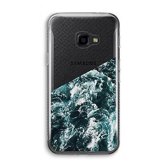 Samsung Galaxy XCover 4 Transparent Case (Soft) - Ocean Wave