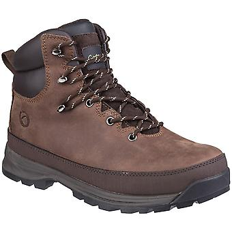 Cotswold Mens Sudgrove Lace Up leren duurzaam wandelen laarzen
