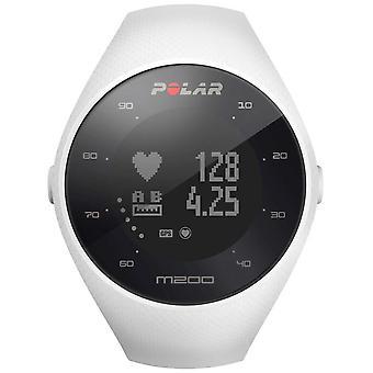 Polar Unisex weiß M200 GPS HR M/L 90067741 Armbanduhr
