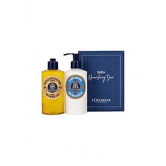 L'Occitane Shea Nourishing Duo Skincare Gift Set