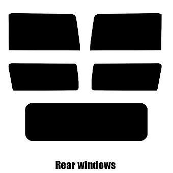Pre cut window tint - Hummer H2 - 2002 to 2009 - Rear windows