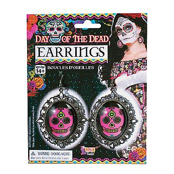 Bnov Day Of The Dead Earrings