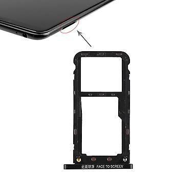 Für Xiaomi Mi Max 3 Karten Halter Sim Tray Schlitten Holder Ersatzteil Schwarz