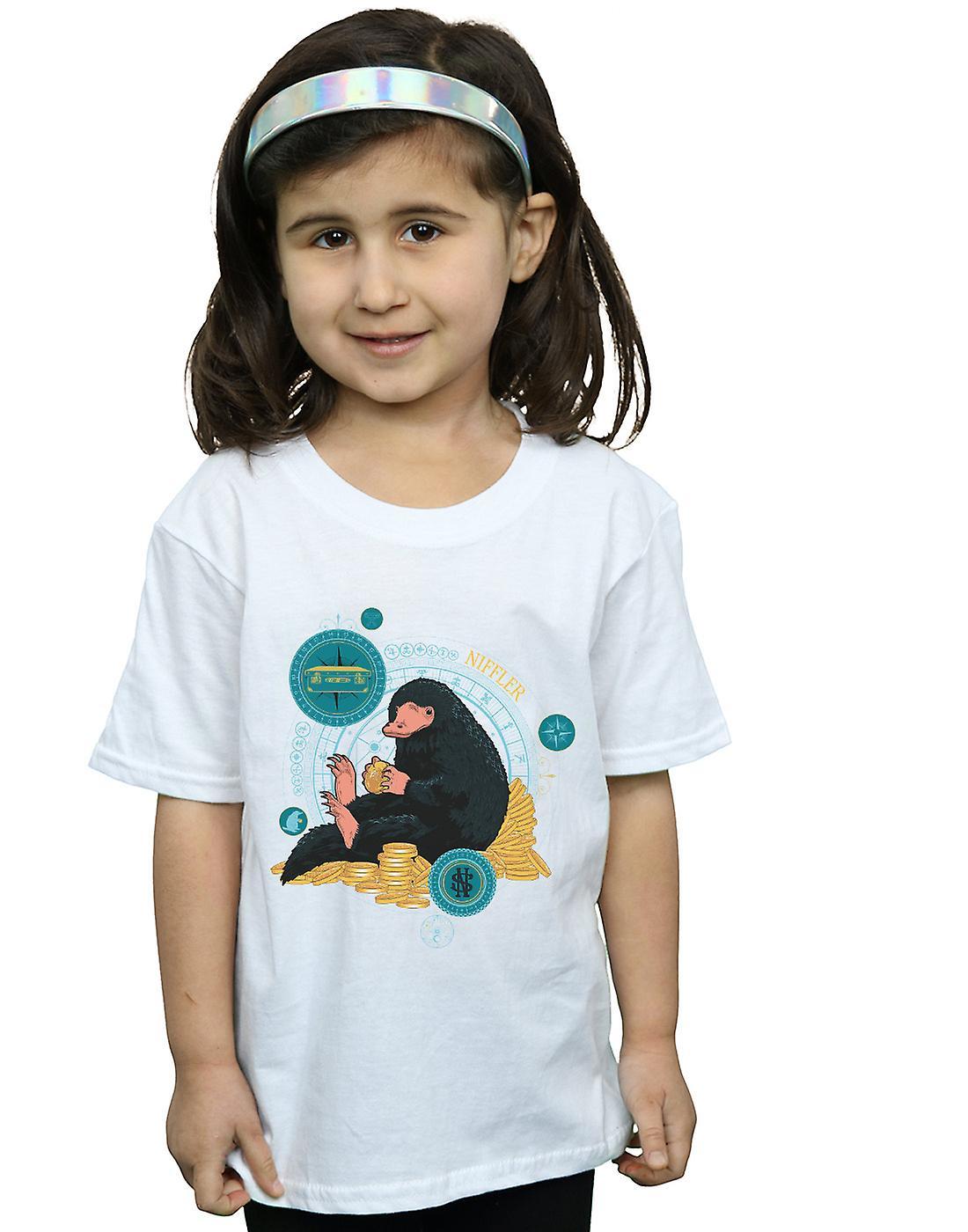 Fantastic Beasts Girls Sitting Niffler T-Shirt