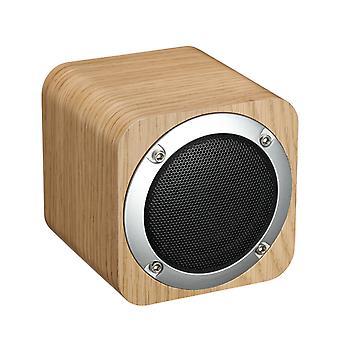 iLepo i7 Wireless speaker in wood-light brown